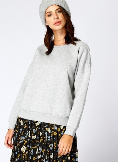 Black Pepper Sweatshirt Füme
